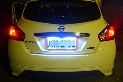 日產 NISSAN BIG TIIDA 高功率 鋁殼 T10 5630 6面小炸彈燈泡 魚眼 小燈 閱讀燈 牌照燈 超白