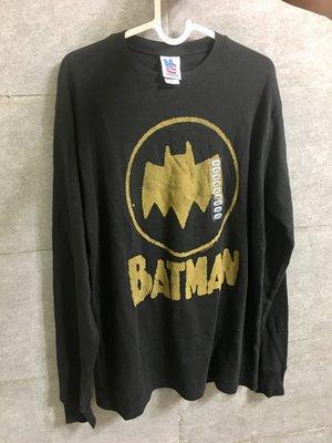 美國帶回Junk Food 長袖黑色t恤Batman蝙蝠俠