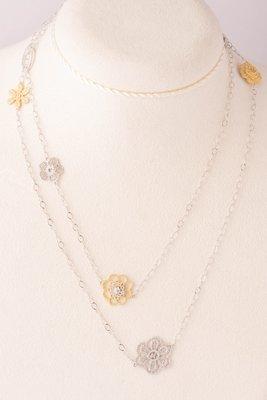 【JHT金宏總珠寶/GIA鑽石專賣】0.070克拉天然鑽石項鍊/材質:750(JB53-B03)