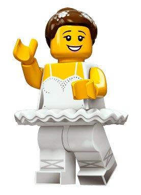 現貨【LEGO 樂高】積木/ Minifigures人偶系列: 15 代人偶包抽抽樂 71011   芭蕾舞女孩
