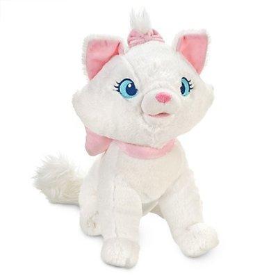【Rani 歐美日】 美國迪士尼正品 Disney Marie 瑪莉貓 娃娃 瑪麗貓 白貓 貓兒歷險記 流浪記