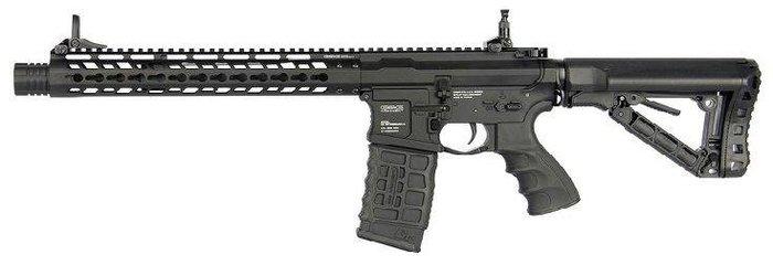 JHS((金和勝 生存遊戲專賣))G&G 全金屬 GC16 WILD HOG 12'' 電動槍 6433