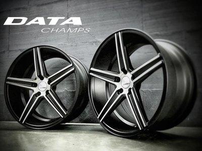 【超前輪業】新上市 DATA C1R 20吋鋁圈 5孔114.3 5孔120 前後配 黑底車面 歡迎詢問價格