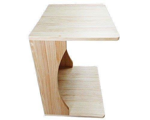 【森林原木手工家具】原木ㄇ字型邊桌