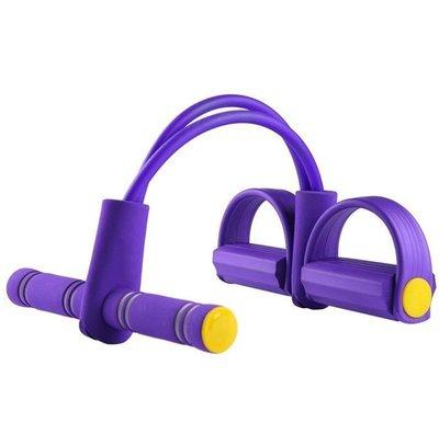 【LA02腳蹬拉力器】多功能乳膠腳蹬腳踏拉力器腿部拉力器仰臥起坐器輔助彈力繩拉力繩