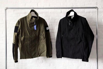 MADNESS PATCHED HIGH COLLAR PARKA 高領重水洗斜紋布軍裝夾克