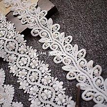 『ღIAsa 愛莎ღ手作雜貨』(50cm)釘珠蕾絲花邊婚紗禮服DIY裝飾服飾配件裝飾材料寬8cm