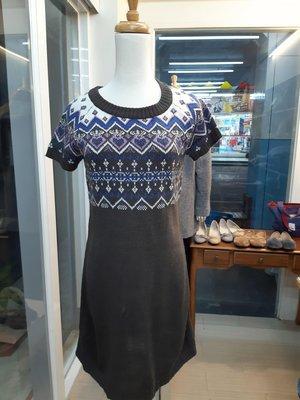 櫻花屋 日本專櫃毛線長版上衣 38-45公斤