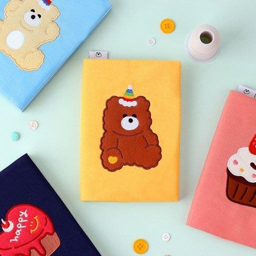 ❅PAVEE❅ 韓國wannathis~TAILORBIRD Diary 6 裁縫鳥 刺繡動物布面萬年手帳 萬用手冊