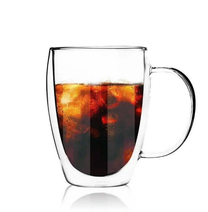 天使熊雜貨小舖~DGH360 經典系列有柄雙層杯  容量:360ml  全新現貨