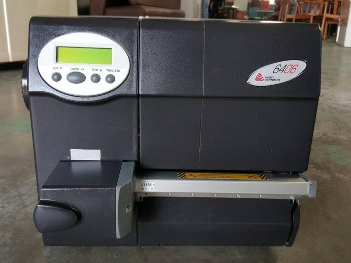 搬家出清------9成新 工業用 貼紙打印機  Printer 6406 貼紙機