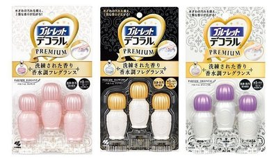 +東瀛go+ Kobayashi 新型日本小林馬桶清潔芳香凝膠-典雅香水/花朵香水/東方香水香氛 花型馬桶用消臭凝膠