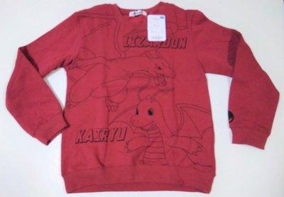 【胖兔兒精選】日本直購 神奇寶貝 長袖上衣 噴火龍 皮卡丘 寶可夢 POKEMON 衣服 外出 大尺寸