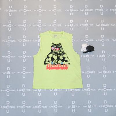 【Dou Partner】Reebok GRITTY KITTY TANK 男款 短袖 背心 健身 運動 GI8386