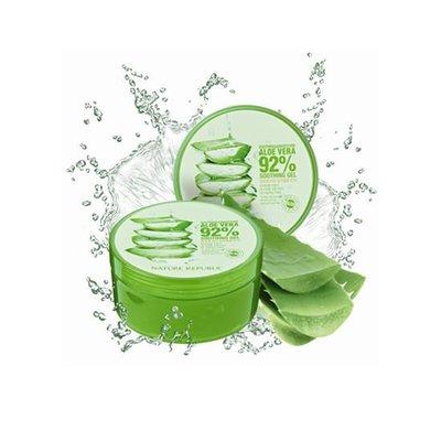 【麗瑄小舖】韓國Nature Republic 92%蘆薈補水修護保濕凝膠 300ml