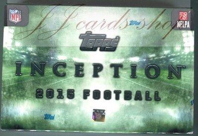 【☆ JJ卡舖 ☆】2015 NFL Topps Inception Football 美式足球 盒卡 ~~