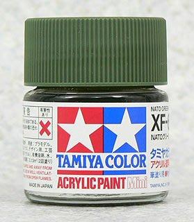 【TAMIYA XF-67】水性 模型專用漆 10ml NATO 綠色