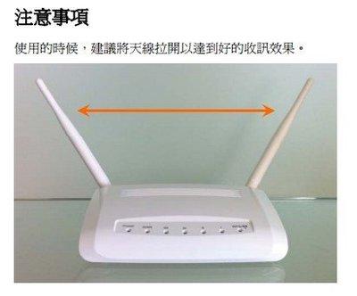 無線分享器正確使用方式