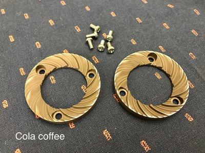 小富士咖機 磨豆機 原廠 日本製 小富士 平刀 刀盤 兩個一組 (附原廠螺絲)