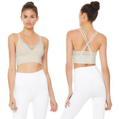 BEAUTY AMIU·代購美國Alo yoga SNEAK LONG BRA胸衣運動健身瑜伽內衣文胸女