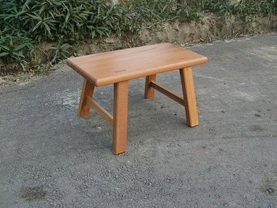 D016 {崙頂傳統原木家具行}~1尺寬 小板凳 5張