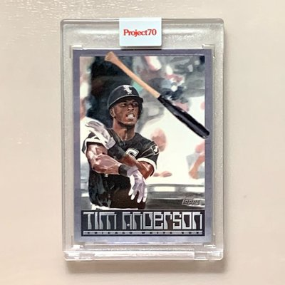 Topps Project70 #190 Tim Anderson by Jacob Rochester