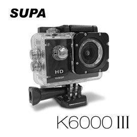 【尖端行車紀錄器】速霸 K6000 III 三代 Full HD 1080P 極限運動防水型 行車記錄器(送32G TF