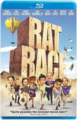 【藍光影片】瘋狂世界 / 亡命奪寶 / Rat Race (2001)