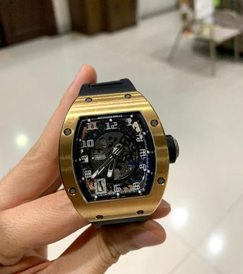 Richard Mille [2013 USED] RM 010 Rose Gold Watch