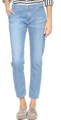 ◎美國代買◎AG The Caden Trouser in gesture 復古風淺藍微寛鬆九分牛仔褲