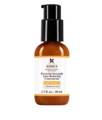 * Kiehl's Powerful Strength Line-Reducing Concentrate 醫學雙誰他命C抗氧亮活精華 50ml 原價$605