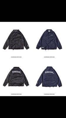 Survival coach jacket 藍色s號 remix reputation aes plain me