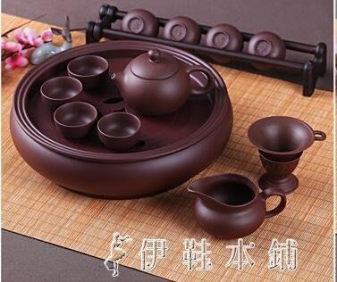 功夫茶具套裝現代紫砂茶具泡茶茶杯茶壺茶盤套裝  熱銷新品