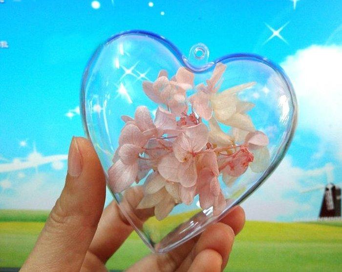 會場布置【10cm透明愛心】透明裝飾圓球/透明塑膠球/透明球/塑膠球/聖誕球/透明空心球/婚禮小物/佈置/扭蛋