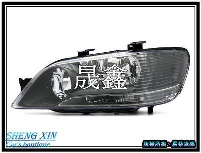 《晟鑫》全新 高品質 三菱 LANCER VIRAGE IO 菱帥 黑框 大燈 2001~2003年 一顆價格