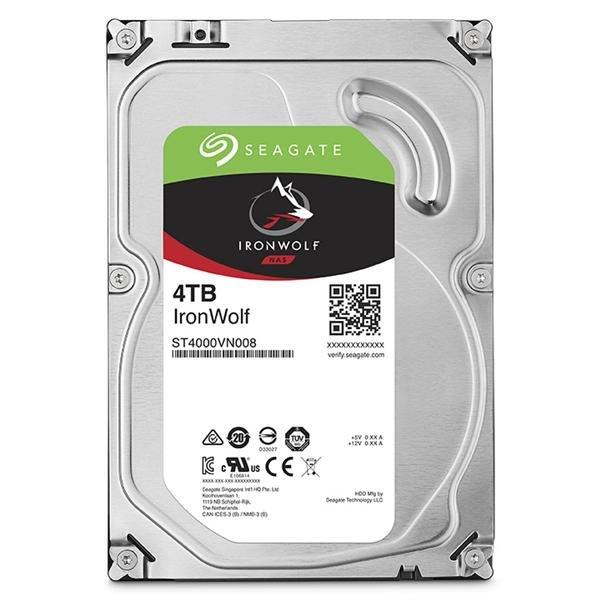 【易霖-硬碟】Seagate那嘶狼IronWolf 4TB 3.5吋 NAS專用硬碟 (ST4000VN008)
