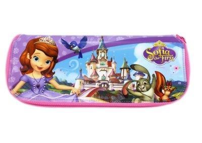 【卡漫迷】 蘇菲亞 餐具袋 ㊣版 韓版 防水 拉鍊袋 鉛筆袋 餐筷袋 筷子袋 迪士尼 小公主 Sofia