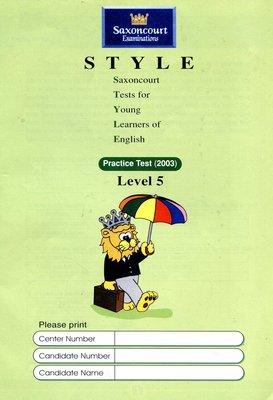 師德英文檢定 STYLE 《5》Saxoncourt Examinations Practice Test (附CD)