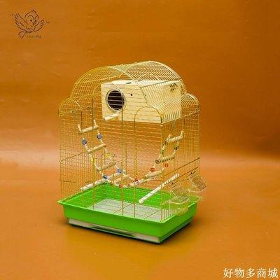 精選 鳥用高級觀賞籠鍍絡群鳥籠 鸚鵡籠子 高品質 八哥籠 玄鳳籠