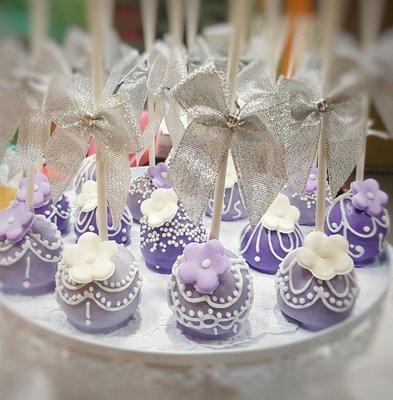 WeddingCake Candy Bar 100支組合 婚禮慶生派對棒棒糖蛋糕POP Cake 婚禮小物 二進小禮