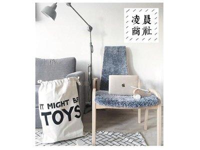 凌晨商社 //北歐 黑白簡約設計 可愛  兒童房間 玩具收納 拉繩帆布袋  TOY款下標區