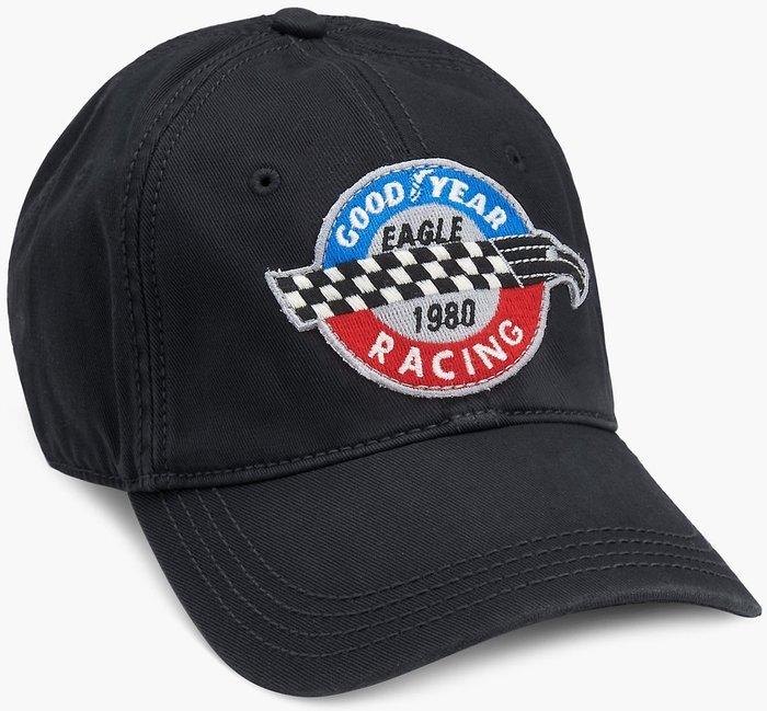 全新美國品牌 Lucky Brand Goodyear Race 固特異賽車設計款棒球帽,低價起標無底價,本商品免運費!