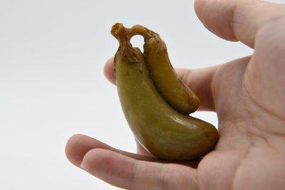 【聽竹軒】壽山石小件雕刻茄子