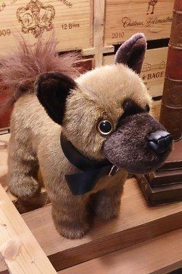 米克斯犬 手工絨毛布偶娃娃 : 娃娃 布偶 絨毛 米克斯 狗 手工 文創 手創 玩具 仿真 裝飾