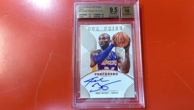 飛】13-14 Preferred【Kobe Bryant】NBA Pride簽名鑑定卡 卡面親簽 2/10