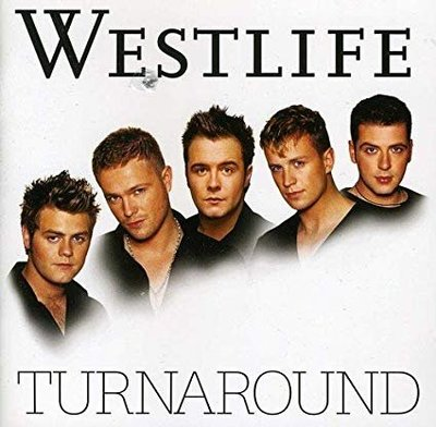 正版CD《西城男孩》/Westlife Turnaround全新未拆