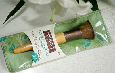 【goods好物】新版古銅 Ecotools Custom Coverage Buffing Brush平頭蜜粉刷腮紅刷