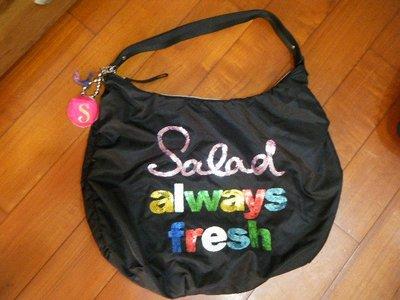 香港品牌 [TOUGH 副牌] -- Salad 超大容量 防水尼龍帆布包