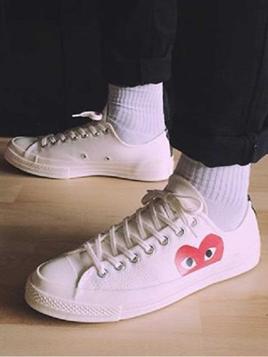 ☆AirRoom☆【現貨】COMME DES GARCONS CONVERSE CHUCK TAYLOR 白 川久保玲