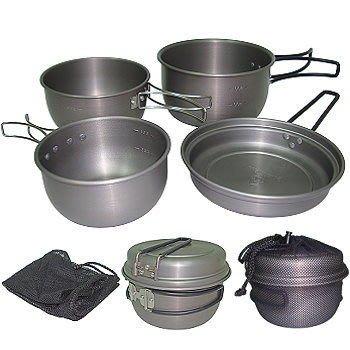 *大營家炊具爐具*DJ-7520 台灣製-雙人鋁鍋組~煮.煎.炒超方便~露營登山烤肉